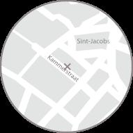 Kaart Interphila Kammerstraat, Gent