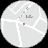 Kaart Interphila Sint-Baafsplein, Gent